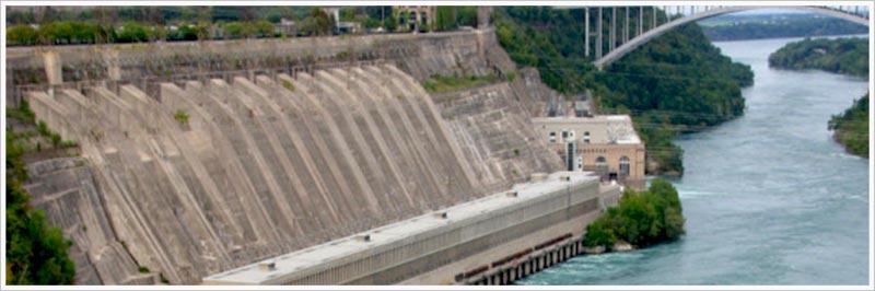 Niagara Falls Hydro Electricity Plant